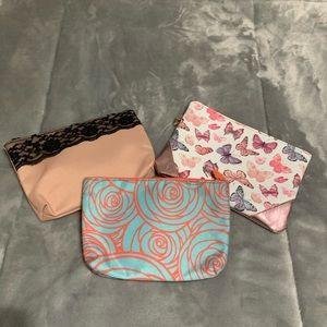 Other - 3 Ipsy makeup bags